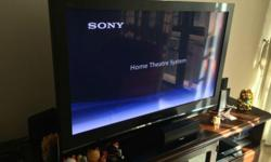 "42"" plasma tv+home cinema+dvd player."