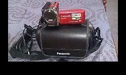 Panasonic Camcorder, used only twice, comes with a bag,