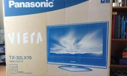 PANASONIC VIERA TX-32LX70 WIDE LCD TV With HDMI HIGH
