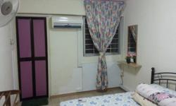 Master Room for rent @pandan garden Including: