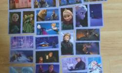 Selling panini Disney frozen stickers One for $0.30,