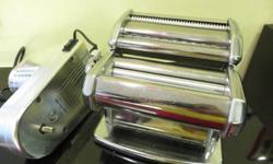 Pasta making machine. Bought in May(2014), still under