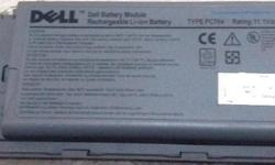 Two units of Dell replacement batteries for grab