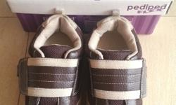 Pediped Adrian Choc Brown/Tan Size EU30, US12.5-13,