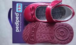 new pediped mary jane red shoes size 20,bought for