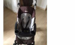A peg perego stroller in a usable state. This can be