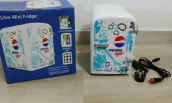 1 X pepsi 4L fridge in good working condition. 1 X wall