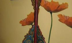 Peranakan Candle Stand for sale from an Estate! Dim: