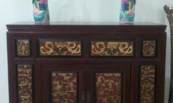Peranakan Straits Chinese Nonya SideBoard table