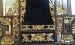 Beautiful Peranakan Vanity Case. Dim: (15.5 x12x5)