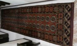 Beautiful Persian Carpet Runner Rug with Bokhara design