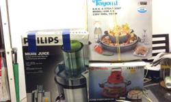 Philips juice extractor .@ $50. Only used several time