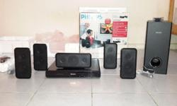 Selling a set of brand new in box PHILIPS 5.1 HT DVD