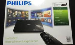 Philips home media player, smart TV Box, powered by