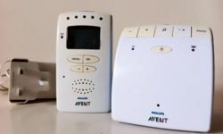 This Philips AVENT DECT baby monitor ensures zero