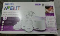 Philips Avent Twin Breast Pump for sale BPA free. Used