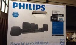Sparingly used pre owned home theatre. As good as new.