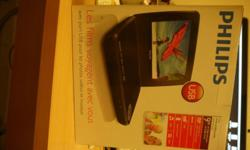 This is a brand new in box DVD player with still