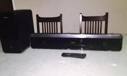 Flat Panel Speakers HDMI cable Wireless subwoofer