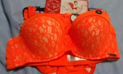 Hi , I have two sets of Pierce Cardin Lace Bra with