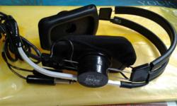 Brand new, imported from USA. Pilot headset for cessna