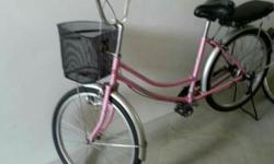 Selling Good condition 24'in pink adult bikes. please