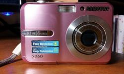 Selling perfect condition samsung camera.No more