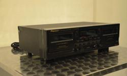 Pioneer Tape Recorder, CT-W208R Condition: 8/10 Should