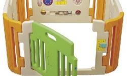 Product Specification for 4-panels Play Yard:- Product