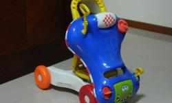Selling 1 Playskool walker, which is convertible to a
