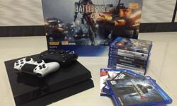 Playstation 4 500GB [with box] all cables included 2