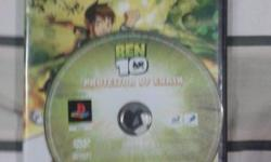 playstation ben 10 10sgd only