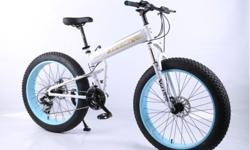-21 speeds -Aluminium frame - Front suspension -Shimano