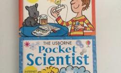 The Usborne Pocket Scientist. The red book & blue book.