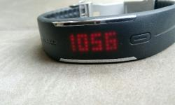 Selling a Polar Loop activity tracker. Comes with watch