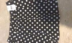 South haven polka dot skirt Brand new, never been