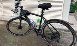 "Polygon hybrid bike with 29""wheels.Brand new tyres."