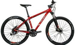 Polygon Xtrada 4 Hardtail Mountain Bike - Red S$570
