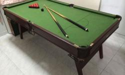 Pool Table in excellent condition. Almost new because