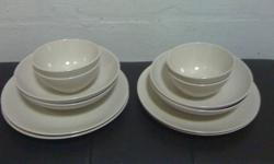 Imm Porcelyn 4 plates,4 large bowls and 4 medium bowls