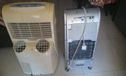 Am selling off my portable aircon with manual and