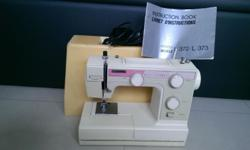 Simple electric sewing machine and also capable of