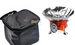 Hi I have a portable gas stove very new unused set . If