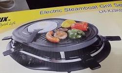 Stylux Electric Steamboat Grilled Set (LH-XJ3K076).