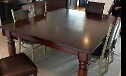 "Potterybarn Dining Table 500 Dimensions 60"" x 60"" or"