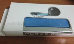 Power Bank Model : A5 (Blue Color) ** Brand New ** -