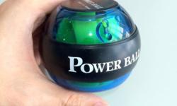 This Powerball is a gyroscopic exercise tool that is