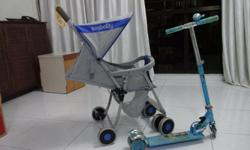 good condition pram and sccoty $30 and $15 negotiable