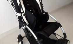 A pre-loved 2010 model Bugaboo Bee baby stroller up for