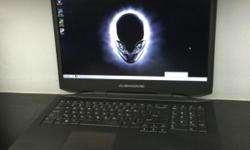 Pre-Owned Gaming Notebook AlienWare 17 Selling @ $1588